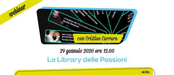 Webinar skilla: La Library delle Passioni