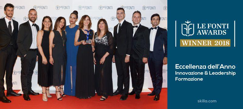 Amicucci Formazione vince il premio Le Fonti Awards 2018