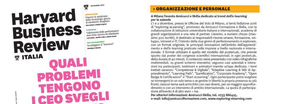 A Milano l'evento Amicucci e Skilla dedicato ai trend dell'e-learning per le aziende