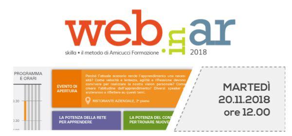 Webinar 2018: nuovi format d'aula per apprendere