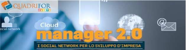 Evento Manager 2.0: i social network per lo sviluppo d'impresa