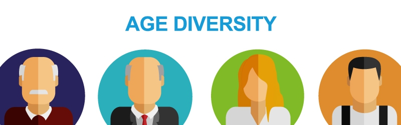 age diversity Diversity in the workplace is now strongly encouraged in progressive organizations, and an increasing number of companies are enacting diversity-related policies but this idea suggests certain policies, such as those related to age diversity, may in fact hamper a firm's performance if managers appear to hold negative age stereotypes.