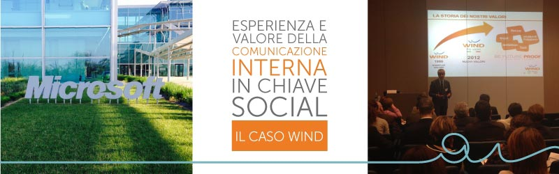 THE EXPERIENCE AND VALUE OF INTERNAL COMMUNICATION FROM A SOCIAL VIEWPOINT. WIND'S CASE