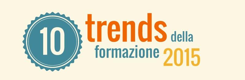 10 trends della formazione nel 2015