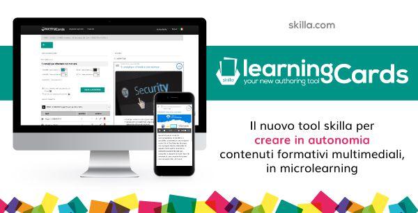 skillaLearningCards: il tuo nuovo tool per l'autoproduzione di contenuti formativi