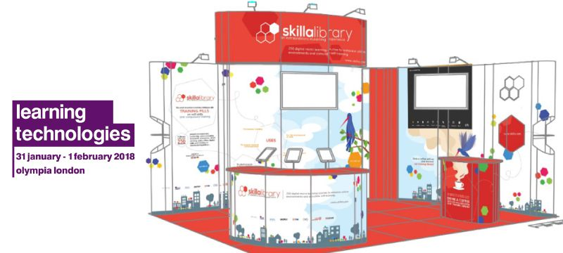 Skilla protagonist at Learning Technologies UK 2018!