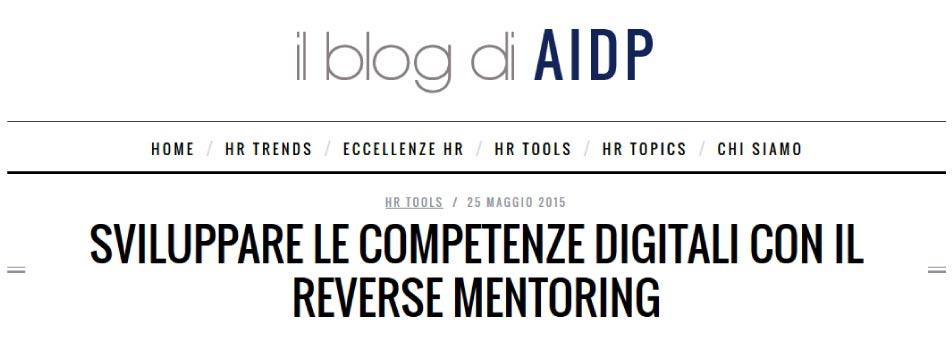 Sviluppare le competenze digitali con il reverse mentoring