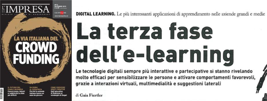 La terza fase dell'e-learning