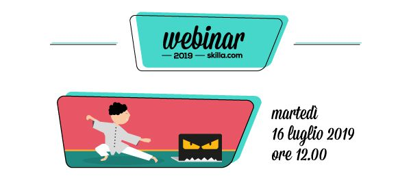 Webinar skilla: tecnofobia e digital learning