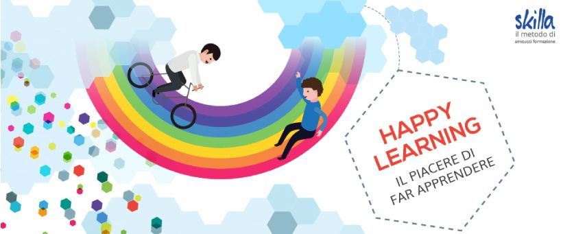 HappyLearning: the pleasure of getting people to learn