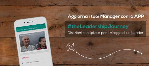 Prova #theLeadershipJourney. Direzioni consigliate per il viaggio di un leader