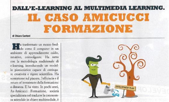 Dall'e-learning al multimedia learning. Il caso Amicucci Formazione