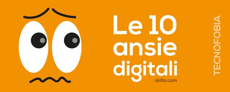 Come deve rispondere l'eLearning alle sfide poste dalle ansie digitali?