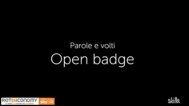 PAROLE E VOLTI - Open Badge