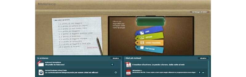 Uno strumento per la condivisione della conoscenza in azienda: le biblioteche multimediali