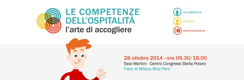 """Hospitality skills: the art of welcoming people to help them make the most of their """"trip to Italy"""""""