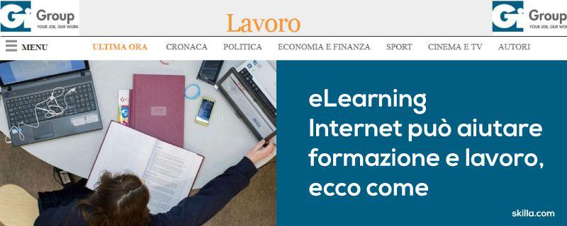 eLEARNING/ Internet può aiutare formazione e lavoro, ecco come