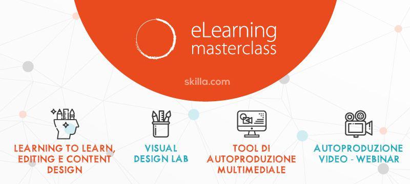 eLearning masterclass: come diventare un instructional designer in 8 giornate