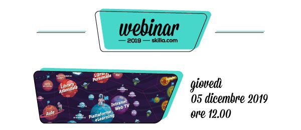 Webinar skilla: L'ecosistema della formazione. Allargare i confini per ridisegnare lo sviluppo organizzativo