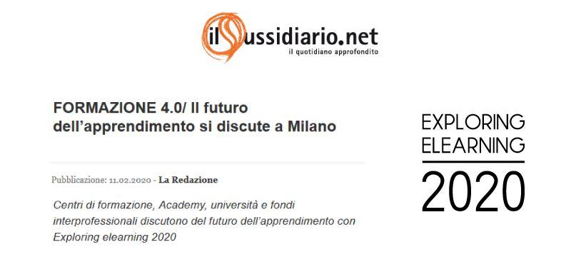 FORMAZIONE 4.0/ Il futuro dell'apprendimento si discute a Milano