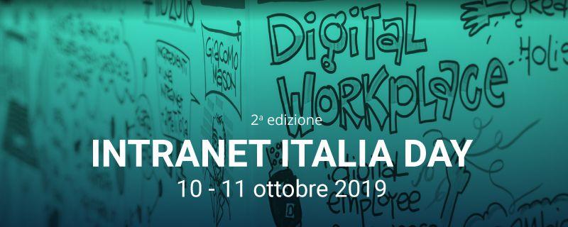 Intranet Italia Day, il 10 e 11 ottobre a Milano