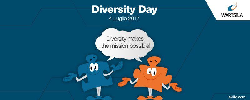 Pillole Skilla per il Diversity Day