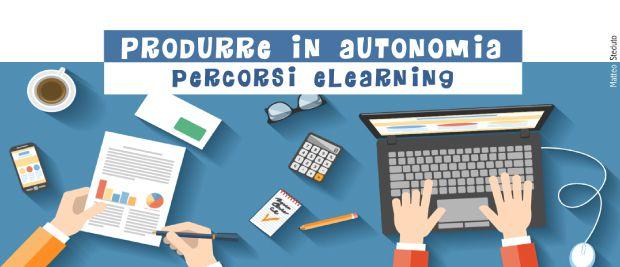 Produrre in autonomia percorsi eLearning