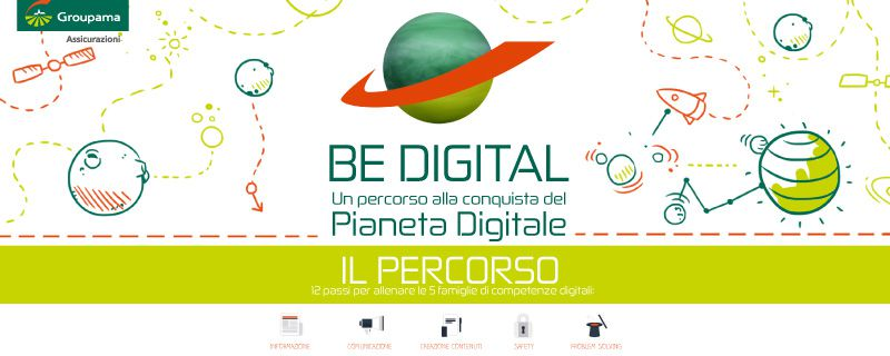 BE DIGITAL – UN PERCORSO ALLA CONQUISTA DEL PIANETA DIGITALE