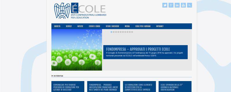 Nuova partnership con Ecole