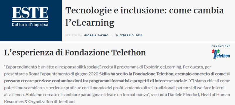 Tecnologie e inclusione: come cambia l'eLearning