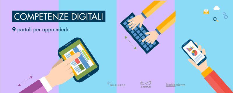 Competenze digitali: 9 portali per apprenderle