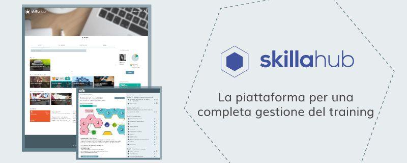 Conosci i nuovi tool di skillaHUB? L'ambiente integrato per la formazione è in continua evoluzione tecnologica!