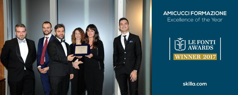 AMICUCCI FORMAZIONE, Excellence of the Year