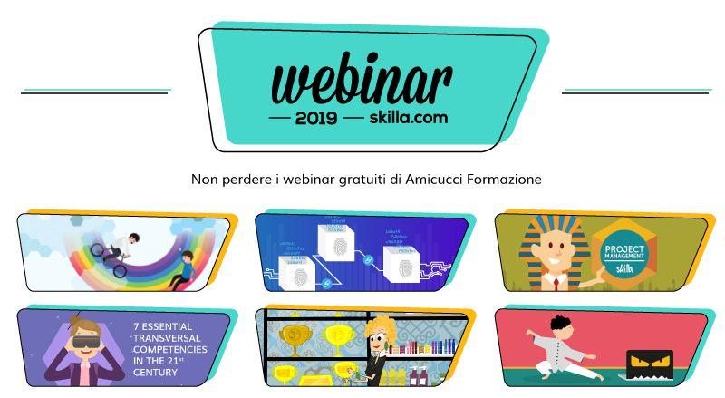 Webinar skilla 2019: tieniti aggiornato sulle novità della formazione